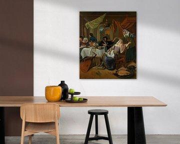 Der zügellose Haushalt, Jan Steen
