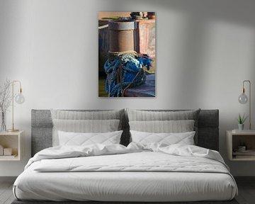 Seile auf einem verrosteten Haufen von Joost van Riel