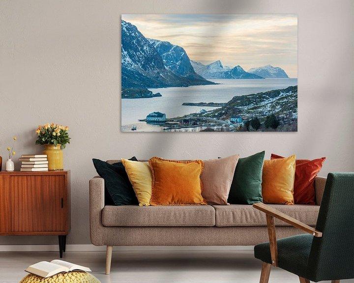 Beispiel: Ongelofelijke landschappen van de Lofoten von Rob IJsselstein