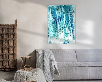 Blauer Regen von Ideka - Inge De Knop