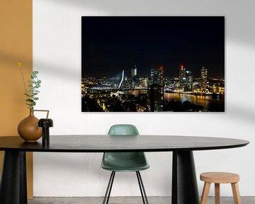 Rotterdam, uitzicht van de Euromast
