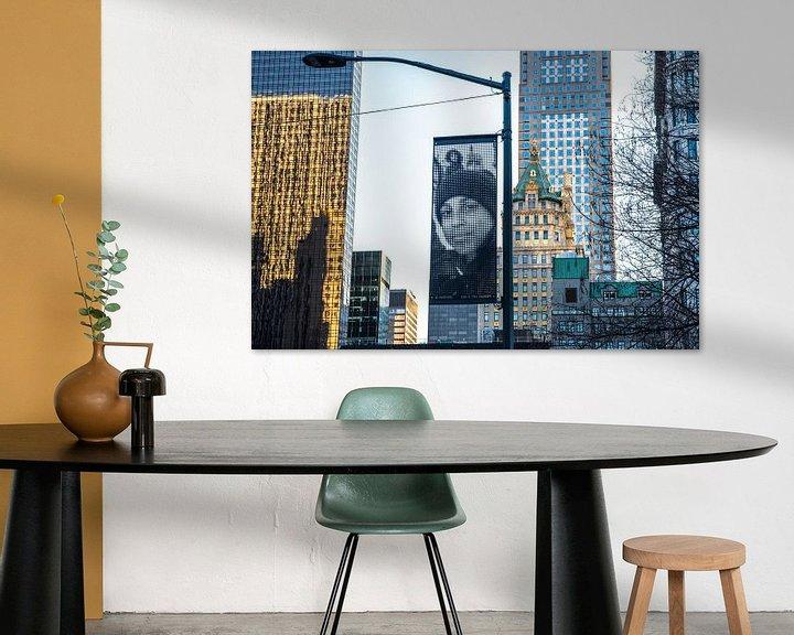 Sfeerimpressie: Kunst van A Wei Wei op 5th Avenue NYC van Annelies Martinot