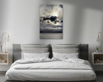 Cloudporn Aflsluitdijk en IJsselmeer