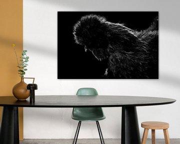 schwarze Henne von Corrine Ponsen