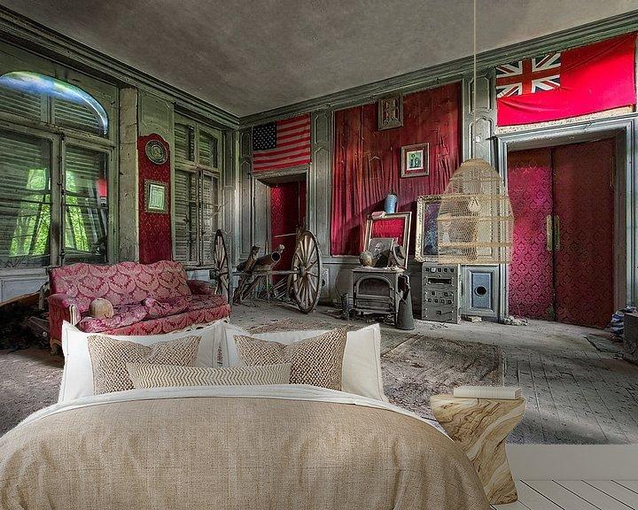 Sfeerimpressie behang: Château Sécession van Soul Photography