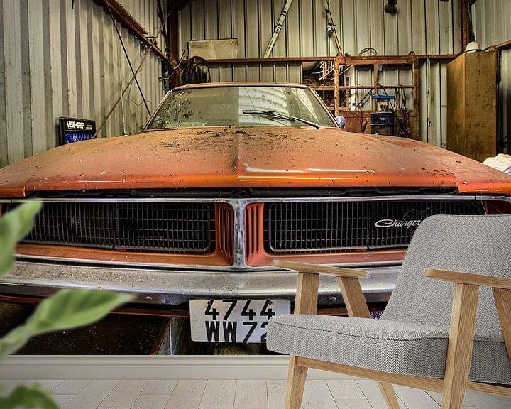 Sfeerimpressie behang: Garage Duke van Soul Photography