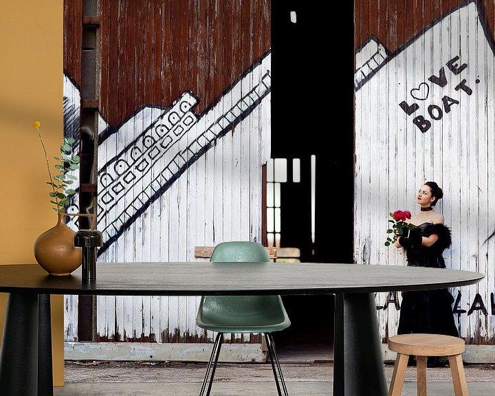 Sfeerimpressie behang: Love Boat van Soul Photography