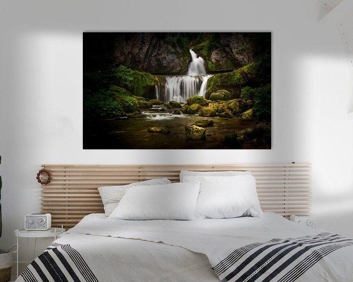 Sfeerimpressie: cascade de la billaude van Joost Lagerweij