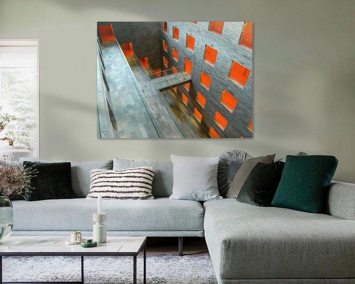 Beispiel: Mediazentrum Hilversum von Jim van Iterson