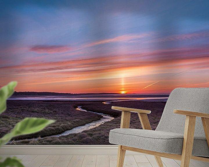 Beispiel fototapete: Sonnenaufgang über Vlieland von Joop Gerretse