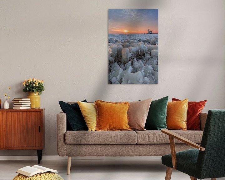 Beispiel: Kruiend ijs in Marken von Dennisart Fotografie