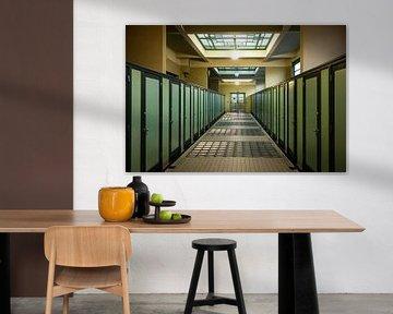 Oude badhuis - Antwerpen von Maurice Weststrate