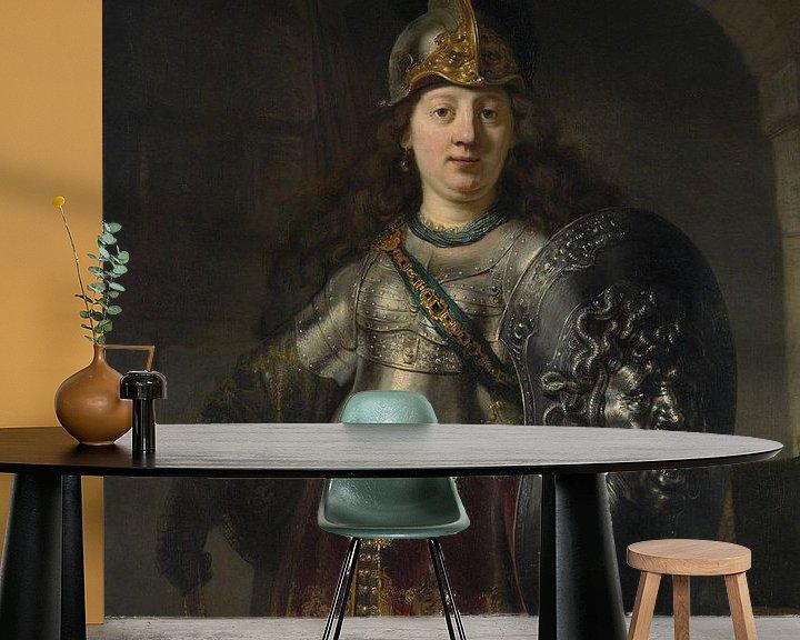Beispiel fototapete: Bellona, Rembrandt