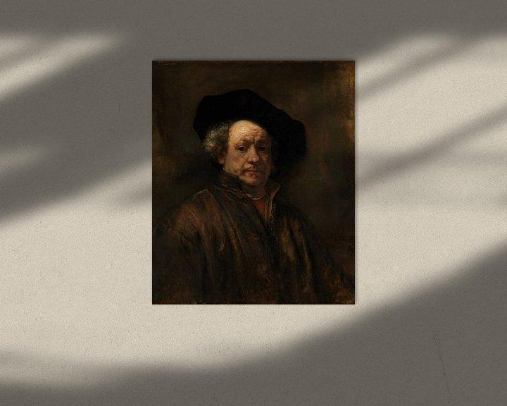 Beispiel: Selbstporträt, Rembrandt