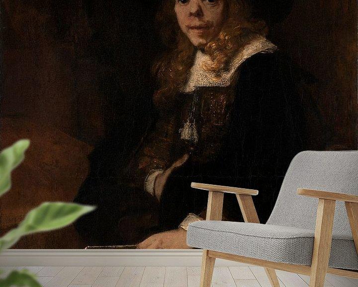 Beispiel fototapete: Porträt von Gerard de Lairesse, Rembrandt