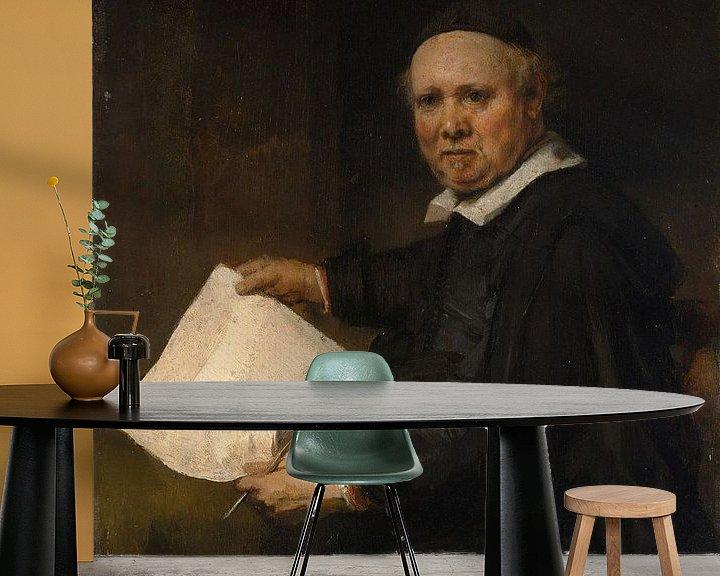 Beispiel fototapete: Lieven Willemsz van Coppenol, Rembrandt