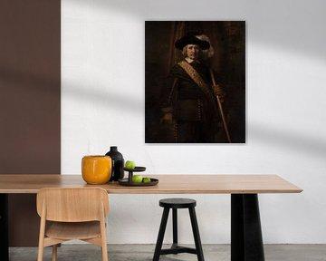 Der Standard Bearer, Rembrandt