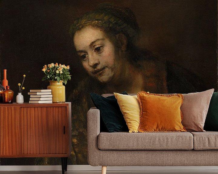 Beispiel fototapete: Hendrickje Stoffels, Rembrandt