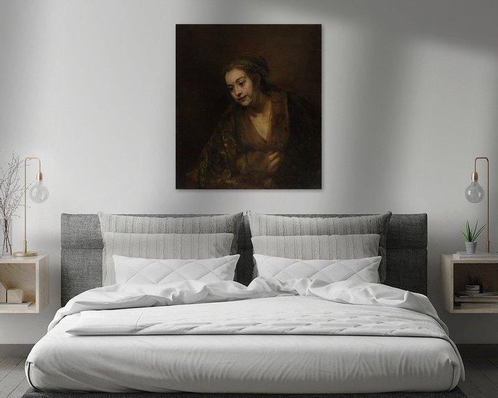 Beispiel: Hendrickje Stoffels, Rembrandt