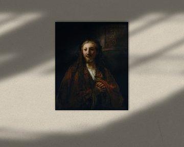 Christus mit einem Mitarbeiter, Nachfolger von Rembrandt