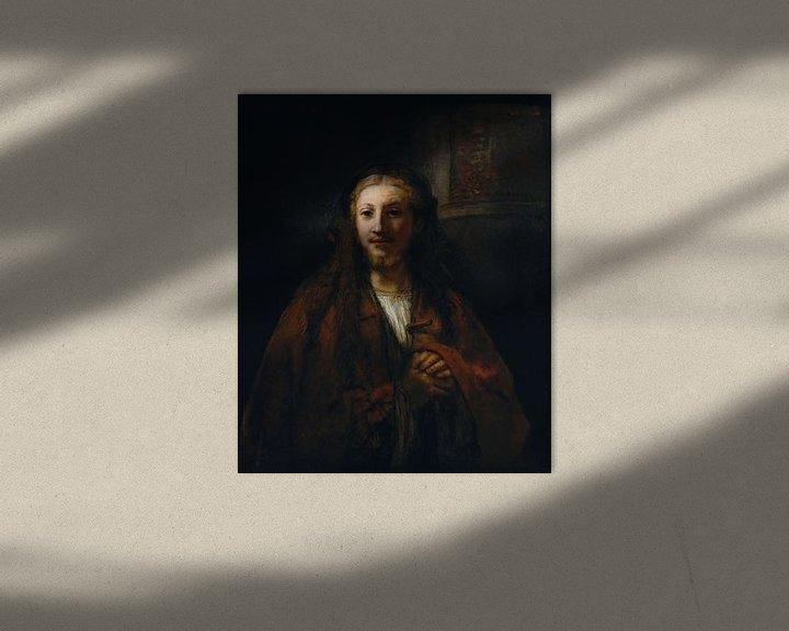 Beispiel: Christus mit einem Mitarbeiter, Nachfolger von Rembrandt