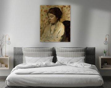 Portrait einer jungen Frau, Edgar Degas