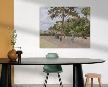 Der öffentliche Garten bei Pontoise, Camille Pissarro