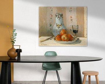 Stillleben mit Äpfeln und Pitcher, Camille Pissarro