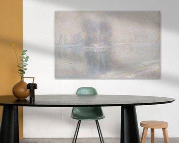 Ijsschotsen, Claude Monet