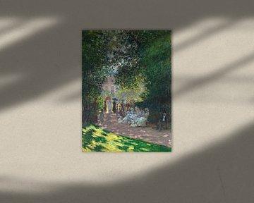 Der Parc Monceau, Claude Monet