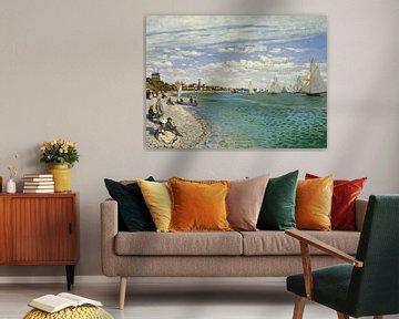 Regatta bei Sainte-Adresse, Claude Monet