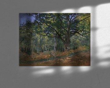 Die Bodmer Eiche, Wald von Fontainebleau, Claude Monet