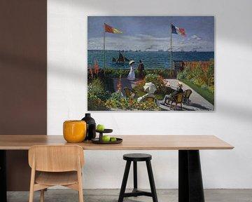 Garten bei Sainte-Adresse, Claude Monet
