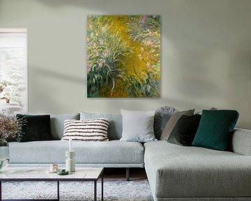 Der Weg durch die Iris, Claude Monet