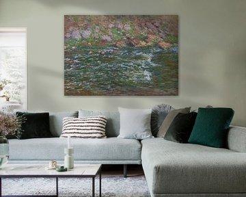 Rapids auf der Petite Creuse in Fresselines, Claude Monet