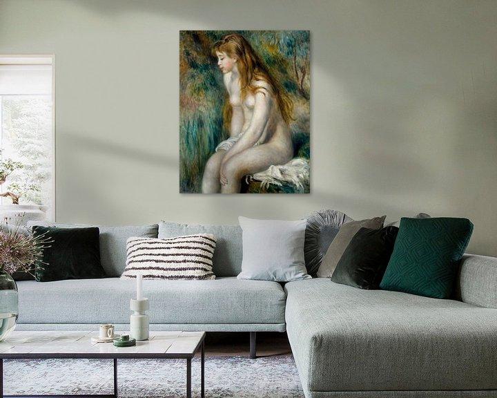 Beispiel: Junge Mädchen Baden, Auguste Renoir