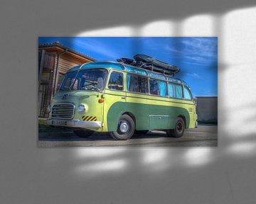 Op avontuur met een oude bus von RJH van de Kimmenade
