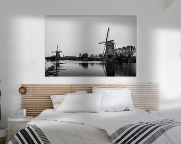 Niederländische Mühlen von Patrick Verhoef