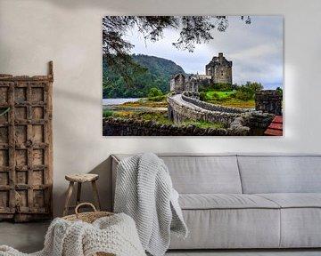 Eilean Donan Castle (Schottland) sur Dennis van Amstel