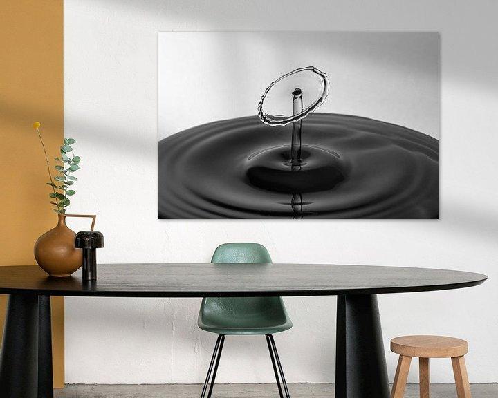 Sfeerimpressie: The Shape of Water   Waterdruppel Fotografie van Marc Piersma