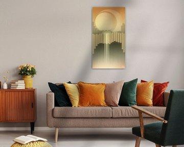 Skaftafell - Oranje Versie van Ilona Iske