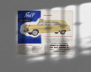 1953 Ford Junior Krankenwagen Werbung