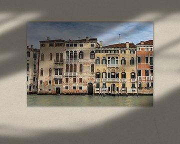 Paläste entlang Grand Canal von Albert Mendelewski