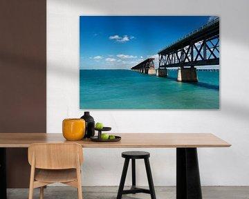 Florida Keys Bahia Honda Bridge Amerika USA von Sita Koning