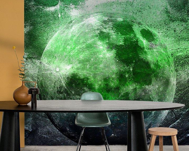 Beispiel fototapete: MOON under MAGIC SKY II-1 von Pia Schneider