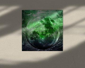 MOON under MAGIC SKY II-1 von Pia Schneider