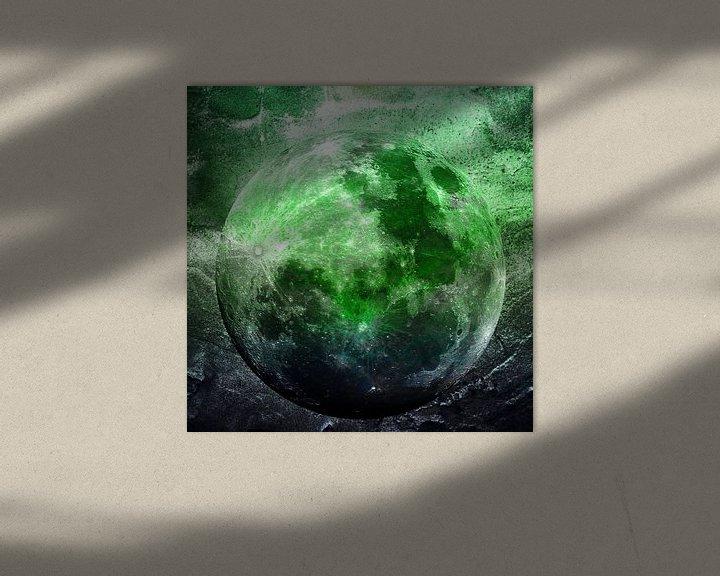 Beispiel: MOON under MAGIC SKY II-1 von Pia Schneider