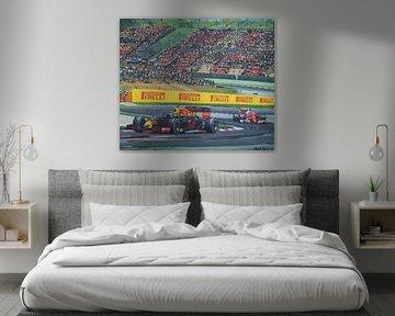 Max Verstappen gagné the Grand Prix l'Espagne 2017 sur Paul Smit
