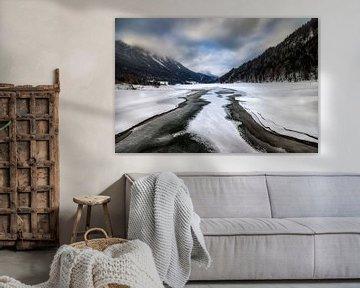 Hintersteiner See Oostenrijk  von Mario Calma