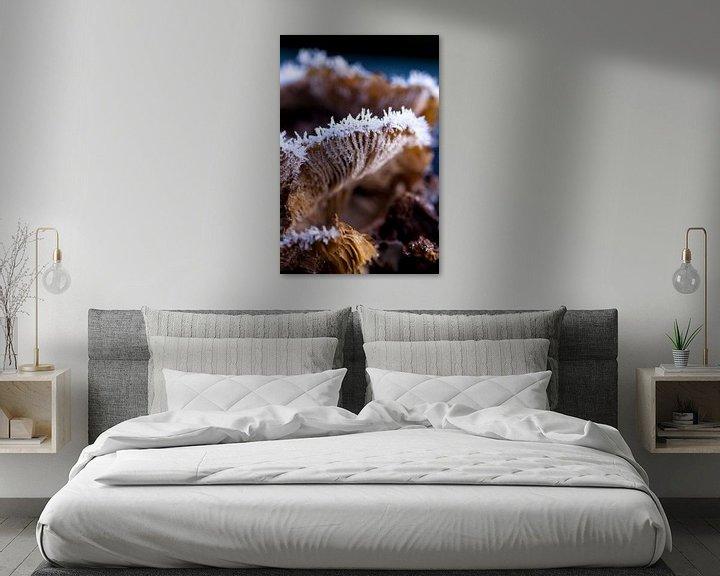 Sfeerimpressie: IJskristallen paddenstoel  van Martzen Fotografie